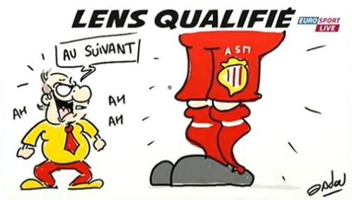gif eurosport Monaco - Lens